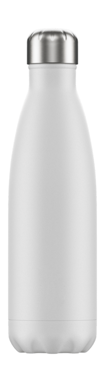 Chilly's Bottle 500ml - Monochrome White