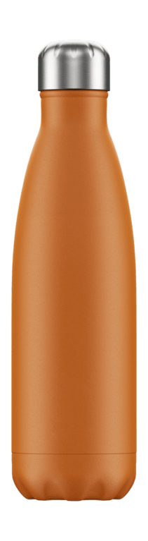 Chilly's Bottle 500ml - Matt Burnt Orange