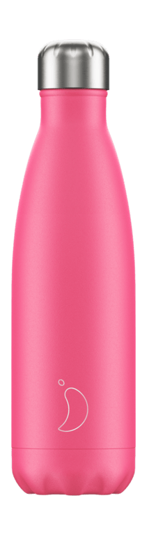Chilly's Bottle 500ml - Neon Pink