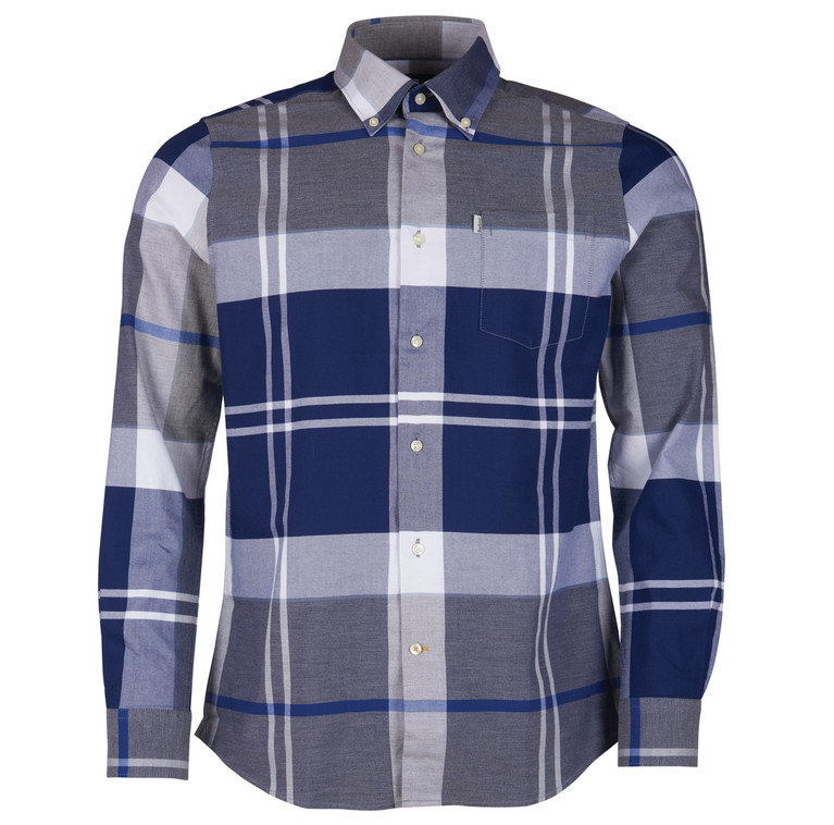 Barbour Brothwell Shirt - Grey Marl