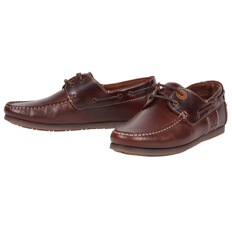 Barbour Capstan Boat Shoe - Mahogany