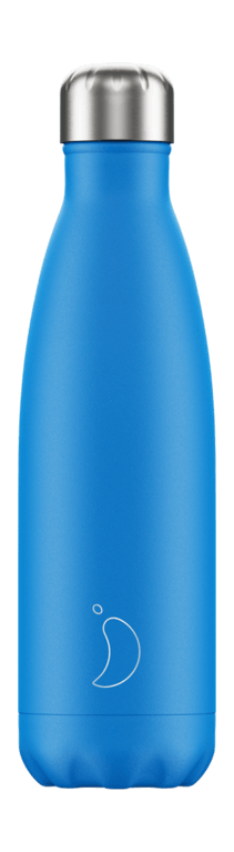 Chilly's Bottle 500ml - Neon Blu