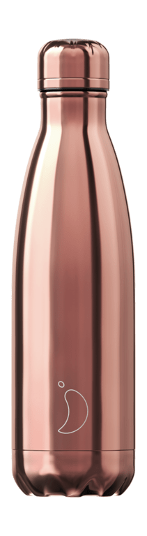 Chilly's Bottle 500ml - Chrome Rose Gold