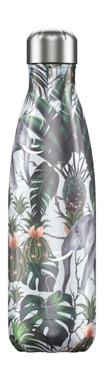 Chilly's Bottle 500ml - Tropical Elephant