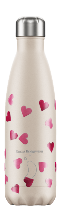 Chilly's Bottle 500ml - Emma Bridgewater Hearts