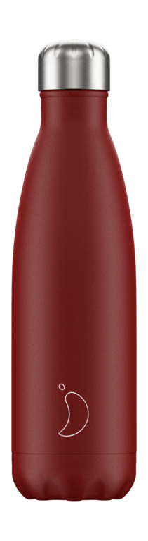Chilly's Bottle 500ml - Matt Red