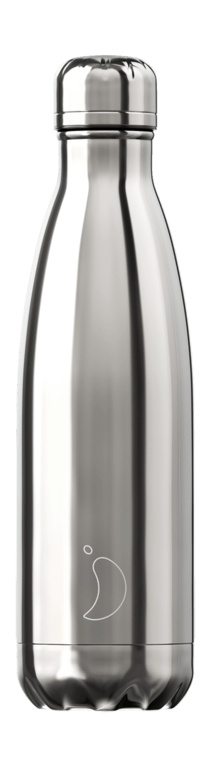 Chilly's Bottle 500ml - Chrome Silver