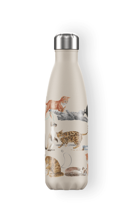 Chilly's Bottle 500ml  - Emma Bridgewater Cats