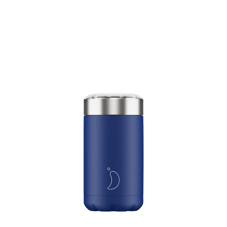 Chilly's Food Pot 500ml - Matt Blue