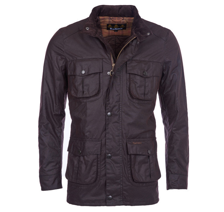 Barbour Corbridge Wax Jacket - Rustic