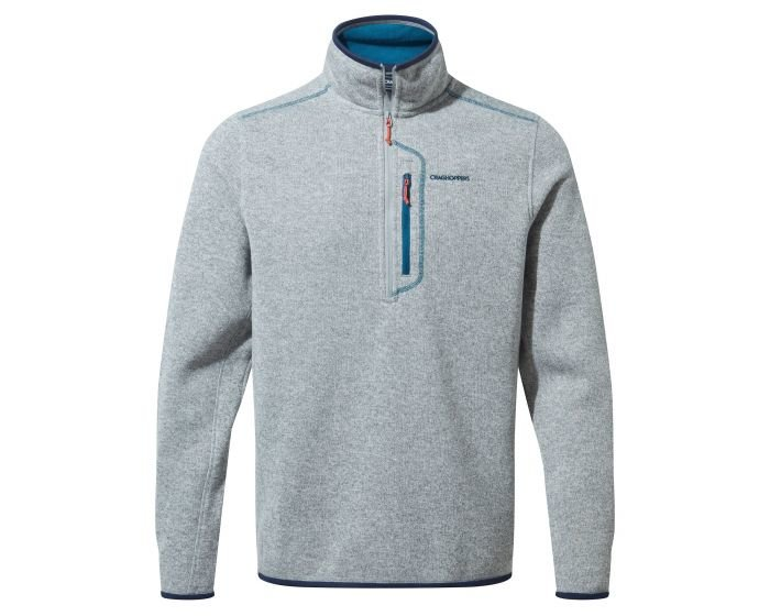 Craghoppers Bronto Half Zip  - Dove Grey