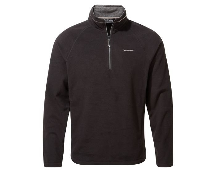 Craghoppers Corey Half Zip Fleece - Black