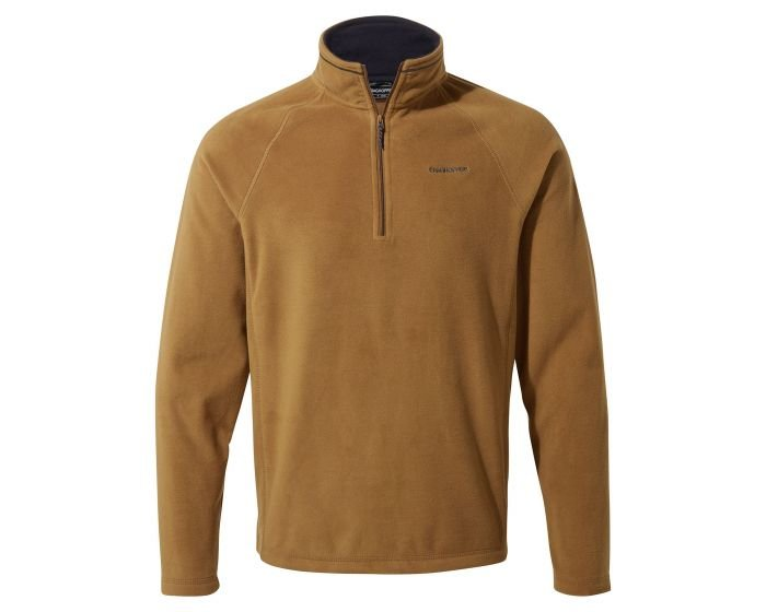 Craghoppers Corey Half Zip Fleece - Rubber