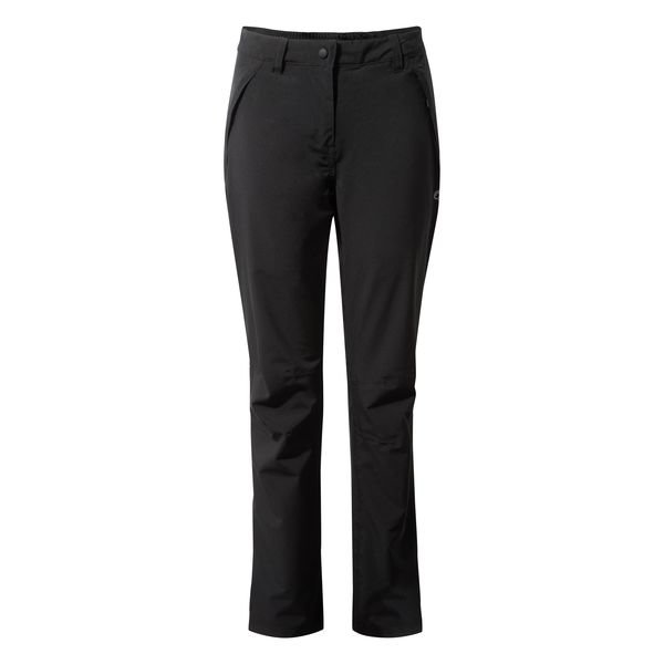 Ladies Craghopper Airedale Waterproof Trousers  - Black