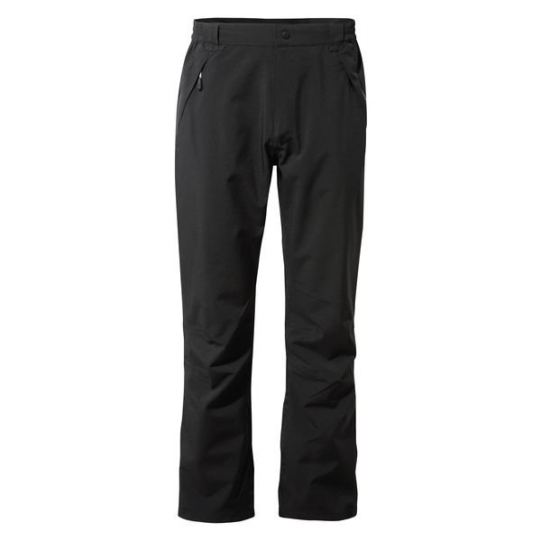 Mens Craghoppers Stefan Waterproof Trousers - Black
