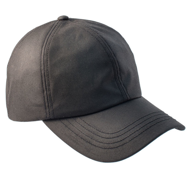 Heather Hat's Darley Wax Baseball Cap - Black