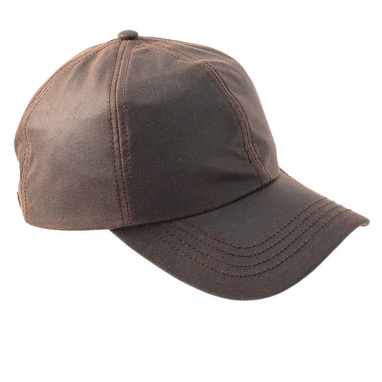 Heather Hat's Darley Wax Baseball Cap - Brown