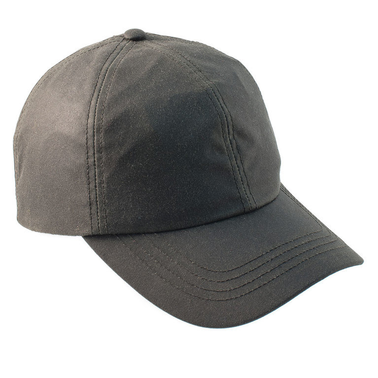Heather Hat's Darley Wax Baseball Cap - Olive
