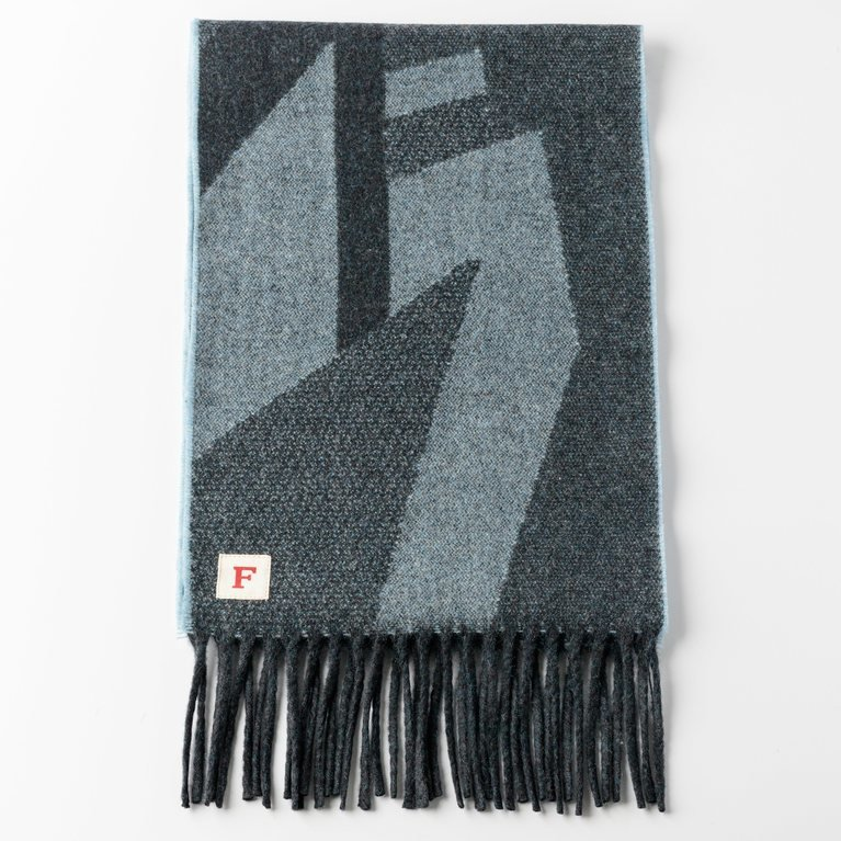 Finnieston The Dazzle Scarf - Blue