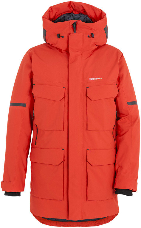 Didriksons Drew Jacket *sample product* - Red