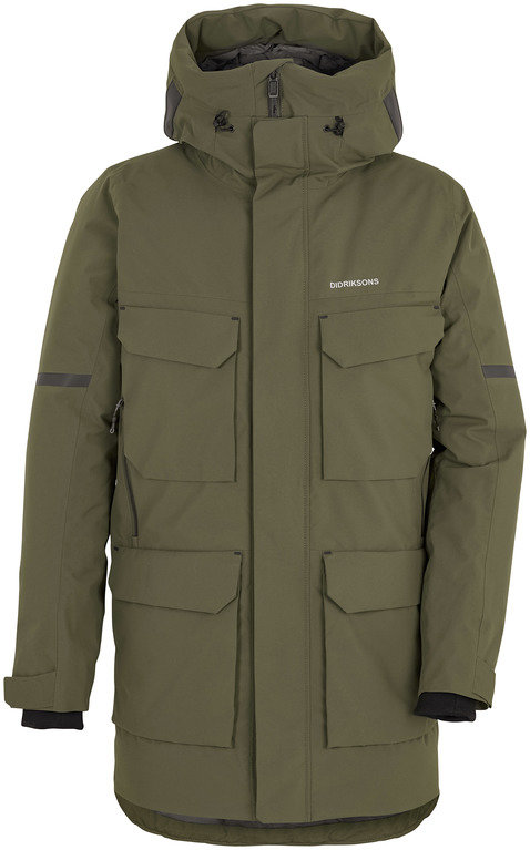 Didriksons Drew Jacket *sample product* - Green