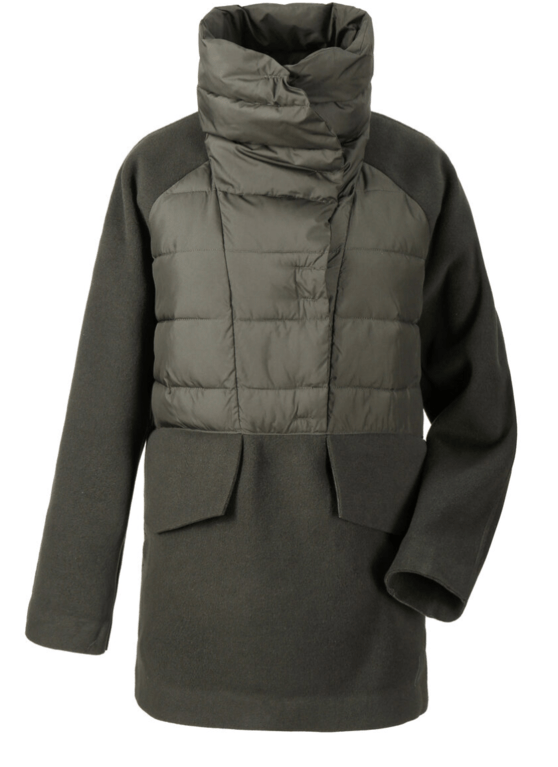Didriksons Line Anorak - Forest Green