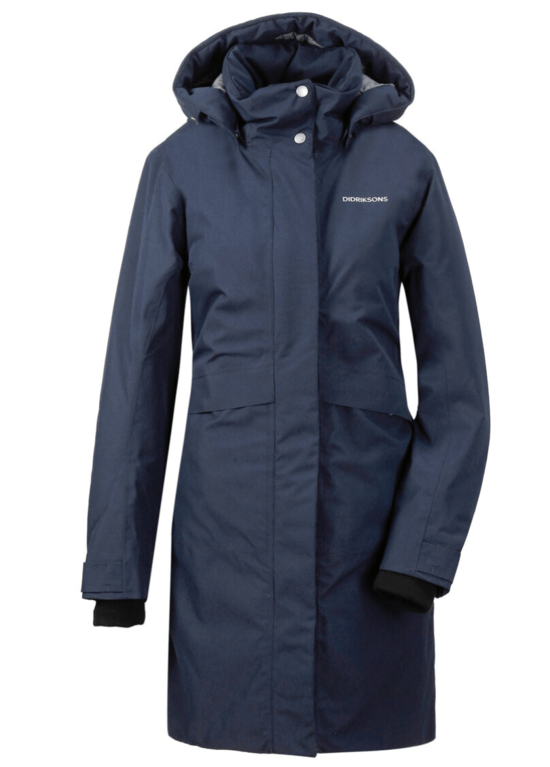 Didriksons Woman's Emilia Parka - Dark Night