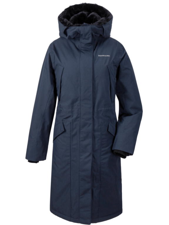Didriksons Woman's Nicolina Parka - Dark Night