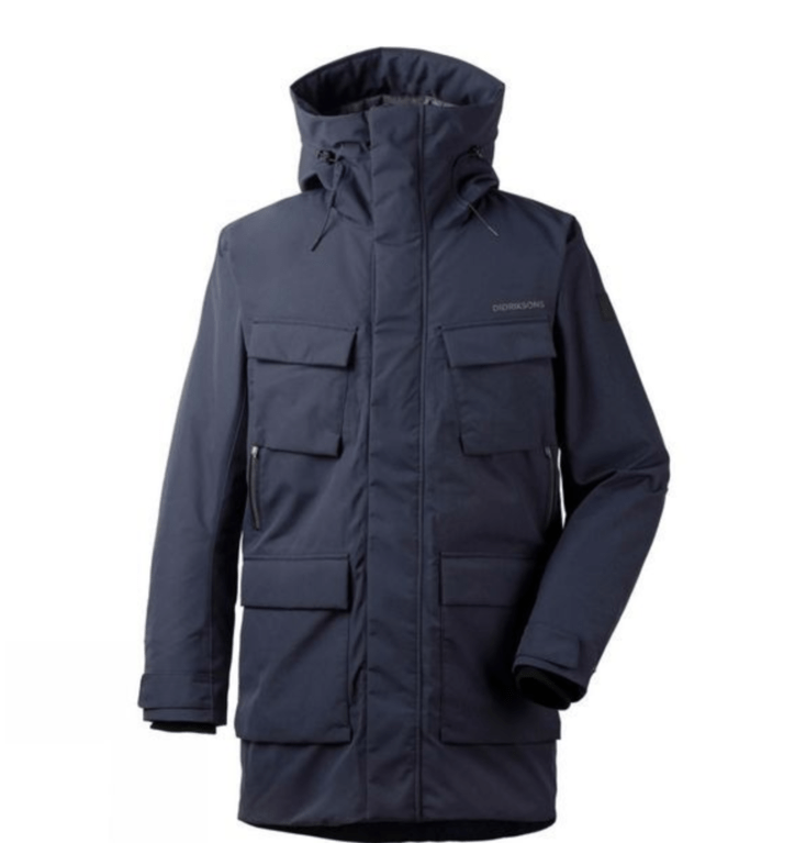 Didriksons Men Drew Parka  - Dark Night Blue