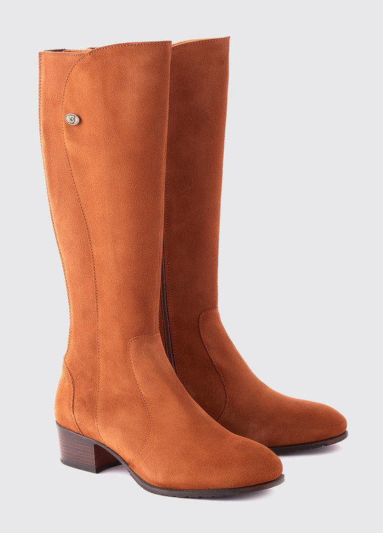 Dubarry Downpatrick Knee High Boot - Camel