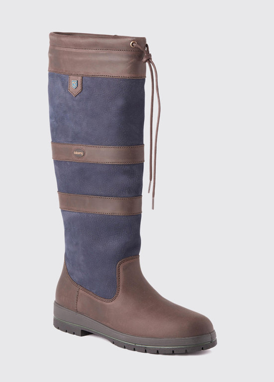 Dubarry Galway Boot - Navy/ Brown