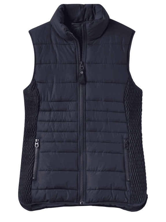 Joules Fallow Padded Gilet - Marine Navy