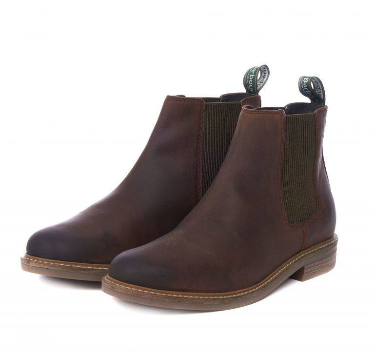 Barbour Farsley Men's Chelsea Boot - Chocolate
