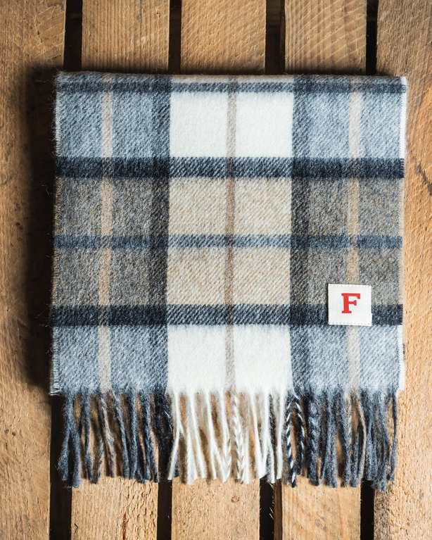 Finnieston Fairfield Scarf - Natural