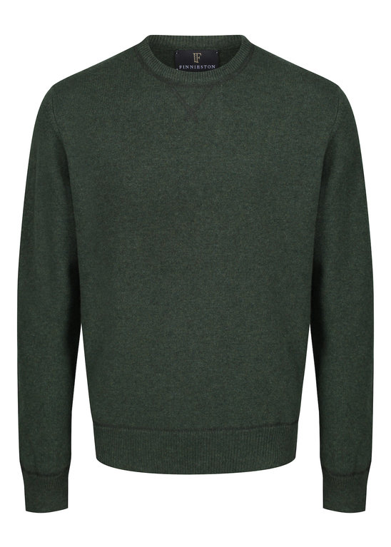 Finnieston Afton Lambswool Sweat - Rosemary