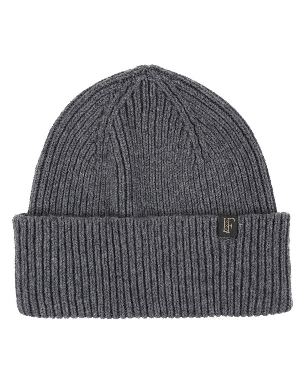 Finnieston Clyde Lambswool Beanie - Grey Mix