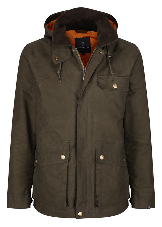 Finnieston Stobcross Jacket - Green