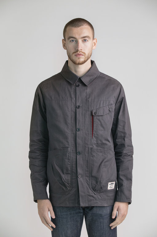 Finnieston Workers Shirt - Distressed Iron