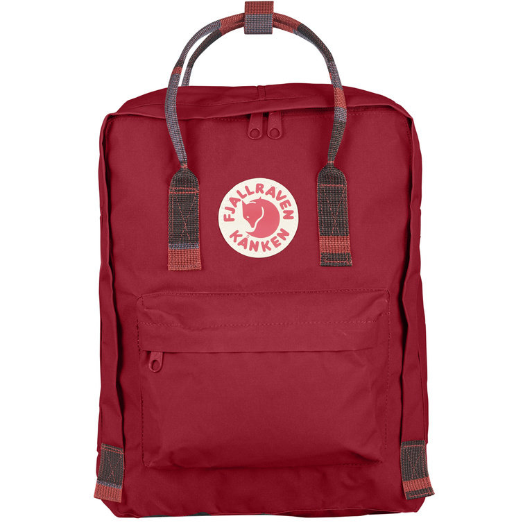 Fjallraven Kanken - Deep Red Random Block