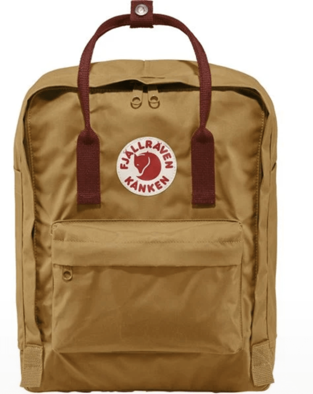Fjallraven Kanken - Acorn & Ox Red