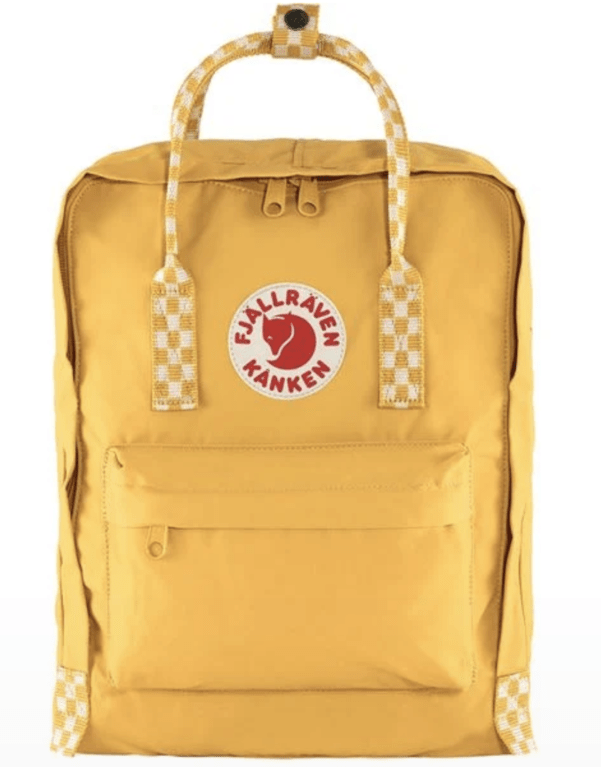 Fjallraven Kanken  - Ochre - Chess