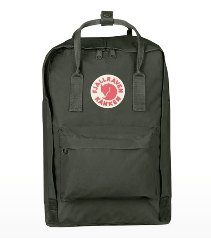 "Fjallraven Kanken Laptop 15"" - Deep Forest"