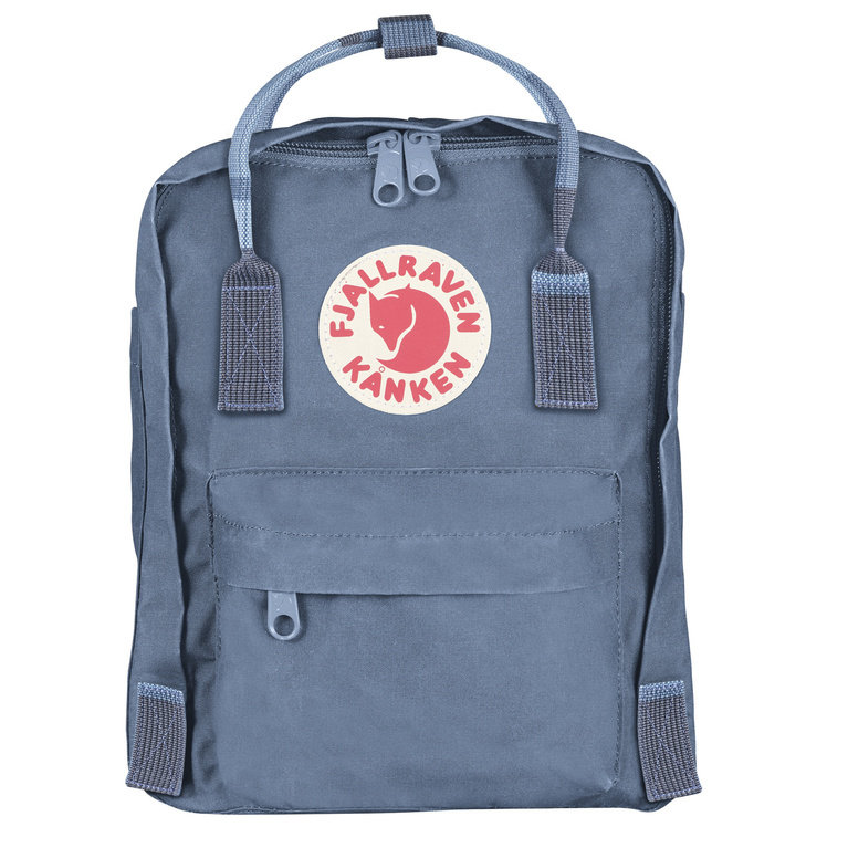 Fjallraven Kanken Mini - Blue Ridge/Random Block