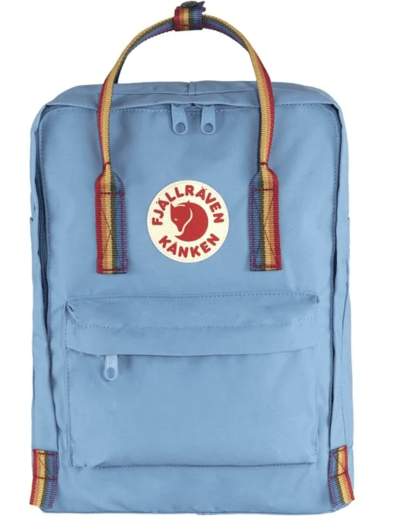 Fjallraven Kanken Rainbow - Air Blue