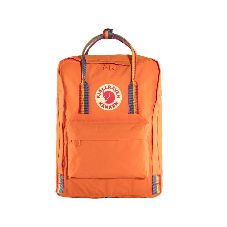 Fjallraven Kanken Rainbow - Burnt Orange