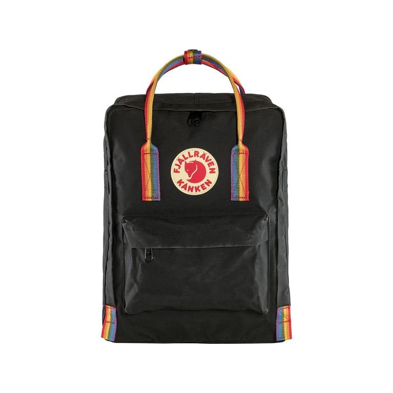 Fjallraven Kanken Rainbow - Black