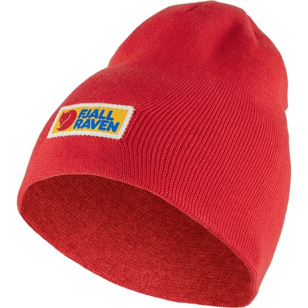 Fjallraven Vardag Beanie - True Red