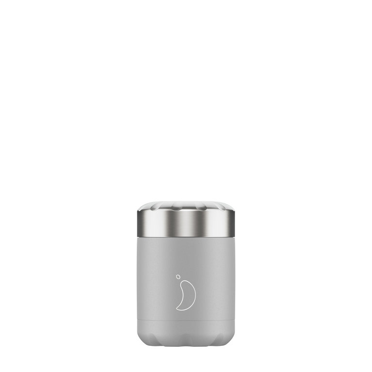 Chilly's Food Pot 300ml - Mono Grey