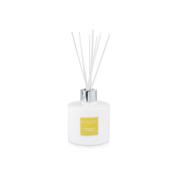 Max Benjamin Luxury Diffuser - Lemongrass and Ginger