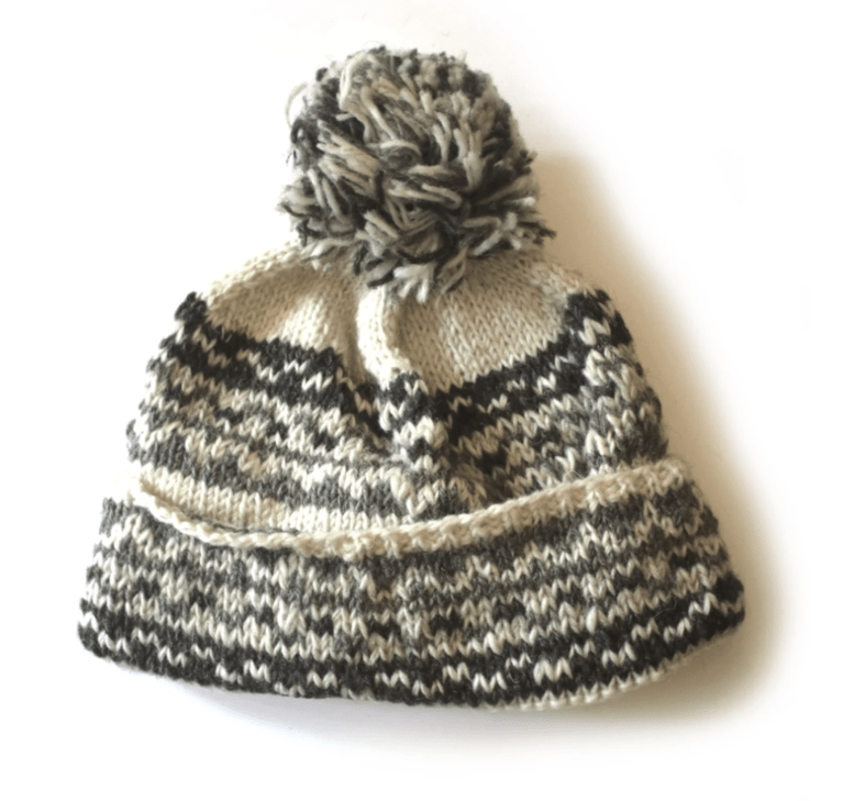 From The Source Nordic Bobble Hat  - Cream